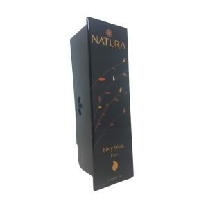 Black Natura Body Wash Dispenser