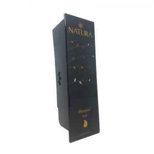 Black Natura Shampoo Dispenser