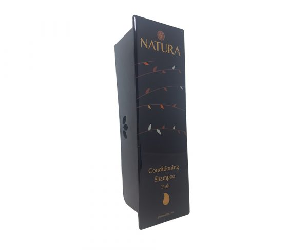 Black Conditioning Shampoo Dispenser