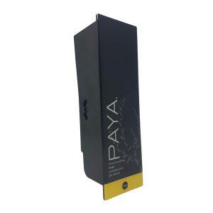 Black Paya soap with refillable cartridge