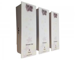 Almond Aromaland triple dispenser